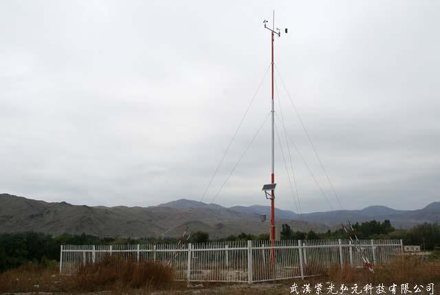 广安 组织开展区域自动气象站汛前巡检